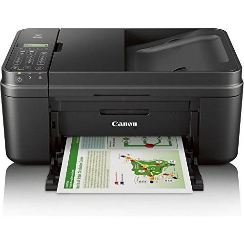 Canon PIXMA MX492 WiFi All-In-One Compact Size Inkjet Printer (0013C002) w/ Canon Black Ink Bundle Includes, Genuine Canon Black Fine Ink Cartridge, 6-Outlet Surge Adapter & 1 Year Extended Warranty by Beach Camera (Image #1)
