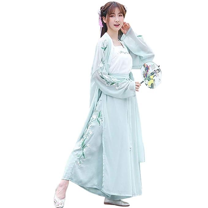 Amazon.com: Yudesun - Vestido chino tradicional de hada para ...