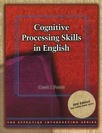 Cognitive Proc.Skills In English W/Dvd