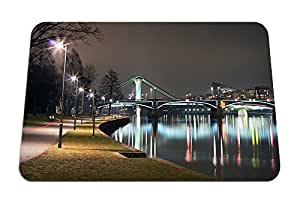"""river reflections - Mouse Pad - Gaming Mouse Pad - 8.6""""x7.1"""" inches"""