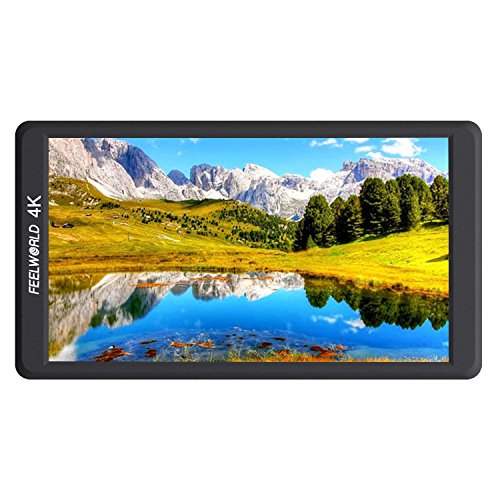 FEELWORLD FW570 5.7 Inch IPS Full HD 1920X1080 Support 4K HDMI Input/Output DSLR Camera monitors for Sony, Nikon,Cannon,GH5,Bmppc cameras