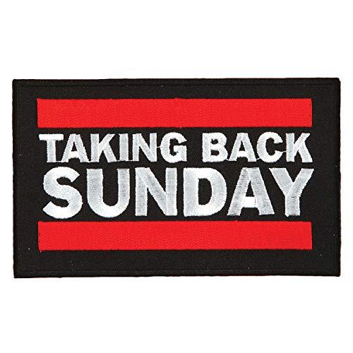 Taking Back Sunday Men's Embroidered Patch - Taking Sunday Back Merchandise