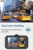 Dash Cam Front and Rear CHORTAU Dual Dash Cam 3