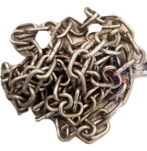 10' Steel Chain 3/16