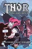 capa de Thor. O Deus do Trovão. Os Últimos Dias de Midgard