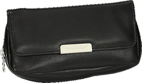 Martin Wess Germany ''Onyx'' Ultra Fine Nappa Leather 1 Pipe Combo Pouch by Martin Wess