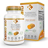 Organic Turmeric Curcumin Supplement 505 mg per serving Highest Potency Available Premium Pain Relief & Joint Support w/ 95% Standardized Curcuminoids Non-GMO Gluten Free Capsules w/Black Pepper