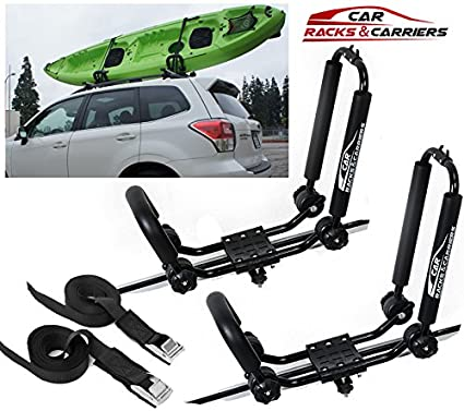 Kayak Roof Carrier >> Car Rack Carriers Universal Kayak Carrier Car Roof Rack