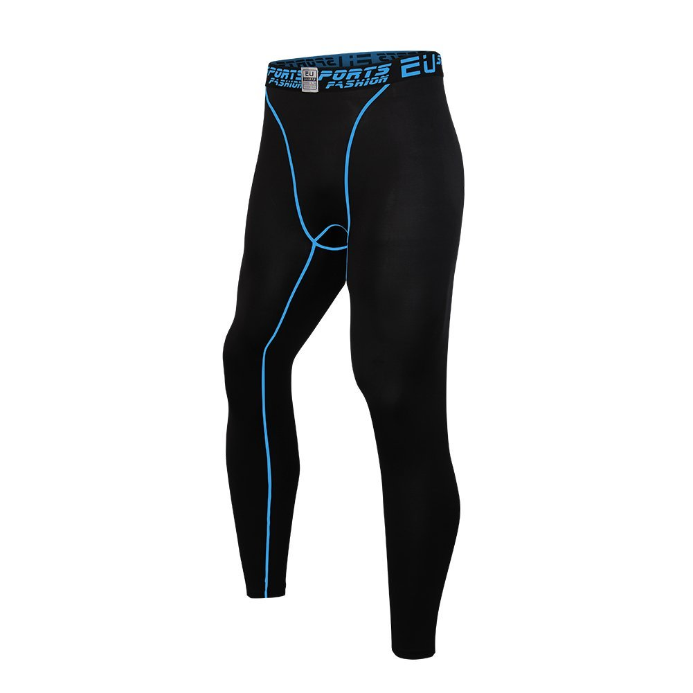 Witkey Mens Compression Pants Leggings Cool Dry Active Tights Baselayer Witkey Apparel