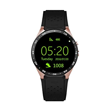 PINCHU KW88 Smart Watches Android Smartwatch Monitor de ...