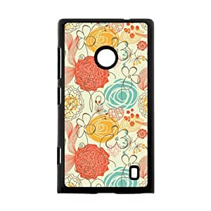 Canting_Good,Art Vintage Pattern, Custom Case for Nokia Lumia 520