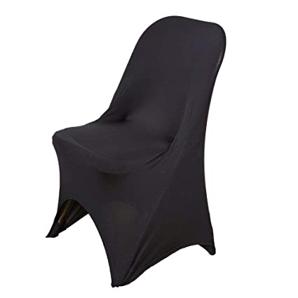 Awe Inspiring Balsacircle 10 Pcs Black Spandex Stretchable Banquet Chair Covers For Party Wedding Linens Decorations Dinning Ceremony Reception Supplies Machost Co Dining Chair Design Ideas Machostcouk