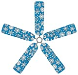 Fan Blade Designs Snowflake Ceiling Fan Blade Covers