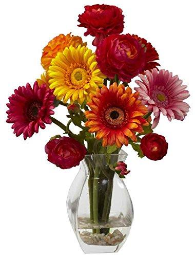 Gerber Daisy and Ranunculus Delight Arrangement in ()