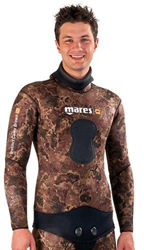 Mares Instinct Camo Brown 70Open Cell Veste Unisexe, Couleur Marron