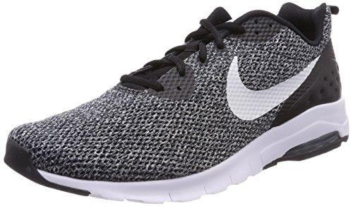 Nike Air Max Motion LW Se, Scarpe da Ginnastica Basse Uomo Nero (Black/Pure Platinum/Dark Grey 010)