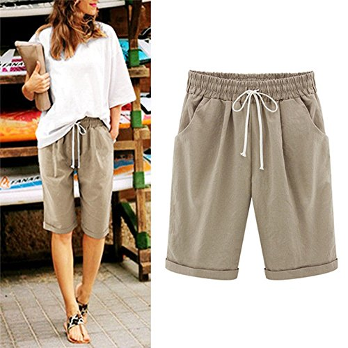 Size Womens Wear Large Khaki Thin Tag Five Dress 200Kg Slack US14 UK12 M for Size Size Tag Pant EU46 Black EU40 L Size Summer Pants amp; XXXL UK18 US8 zPS5Bxnz