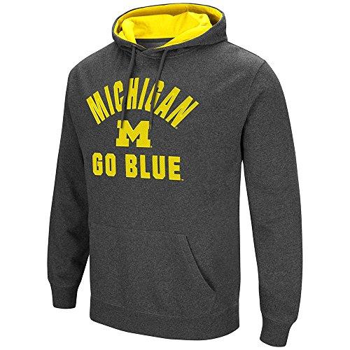 Mens Michigan Wolverines Pull-over Hoodie - M