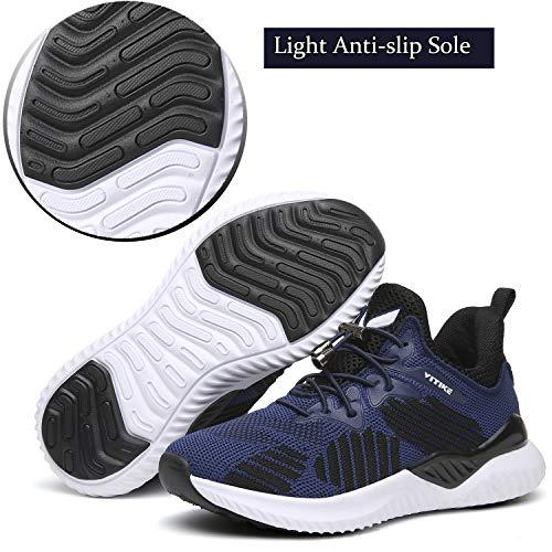 De Mode Garçon Running bleu Chaussures Fille Fitness Femme Course Sneakers Baskets 4 HpddXqw