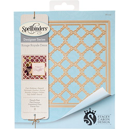 Spellbinders S6-113 French Flair Etched/Wafer Thin (French Wafers)