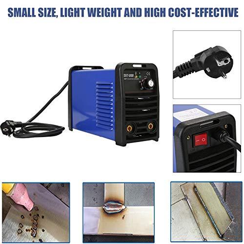 ZX7-200 IGBT Inverter Weld MMA Equipo de Soldadura Manual Continuo 220V: Amazon.es: Hogar