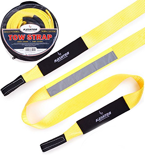 Tow Strap Heavy Duty, Recovery strap - Soft Snatching - 30 000 lbs 3