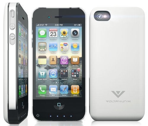Apple MFI-Certified Battery Charger Case for Iphone 4 4s