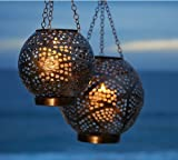 Punched Metal Orb Lanterns (Small)