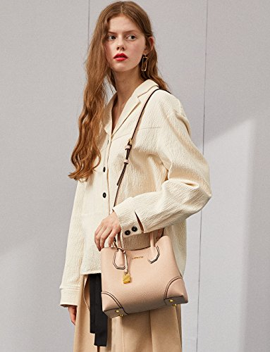 Designer LA'FESTIN Bags Shoulder body Kelly Leather Strap Corss Pink Women's with rrwqP5