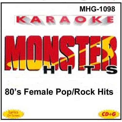 Madonna Karaoke - Monster Hits Karaoke 1098 - 80's Female Pop/Rock Hits