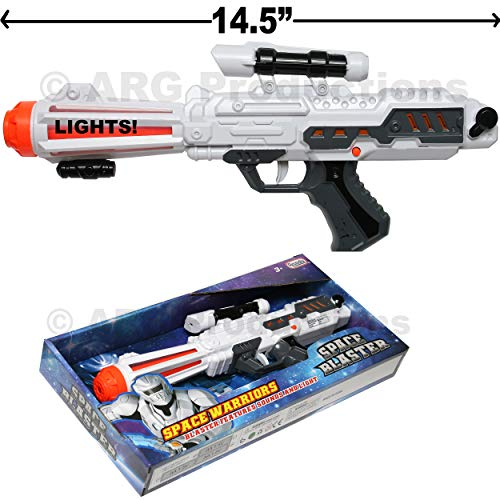 (Arcady Space Warriors Blaster Toy Gun Great Costume Accessory New in)