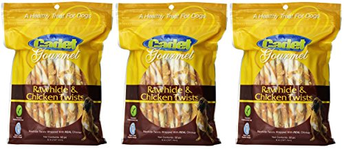 Cheap (Pack of 3) IMS 50-piece Rawhide Wrapped Chicken Sticks Pet Treats