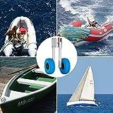 Bestauto Boat Launching Wheels Stainless Steel