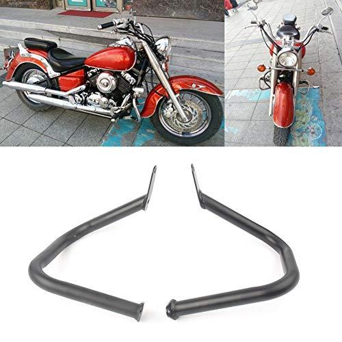 GZYF Motorcycle Engine Guard Highway Crash Bar Protector Fits YamahaVstarDragstar 400650 Classic 1998-2016, ()