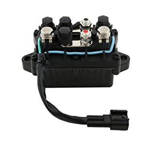 Amhousejoy Trim Relay for Yamaha Outboard Motors 4 Stroke Engine F 20HP - 250HP Replaces 63P-81950-00-00