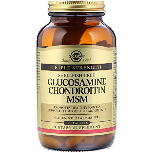 Solgar - Triple Strength Glucosamine Chondroitin MSM (Shellfish-Free) 120 ()