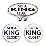 Sofa King TWO Magnetic Golf Ball Markers. If you have two balls buy a ball marker for each one!