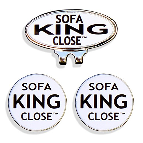Sofa King The Close Golf Ball Markers are SOFAKING Great Stocking Stuffers, Golf Accessories & Golf Gifts for Men or Women. Sofaking Funnier Then a Potty Putter and Drier for Your Balls ()
