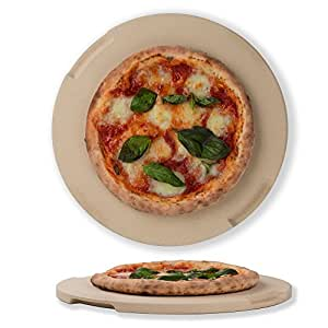 Pizza piedra horno & Grill piedra, ideal para horno, barbacoa y ...
