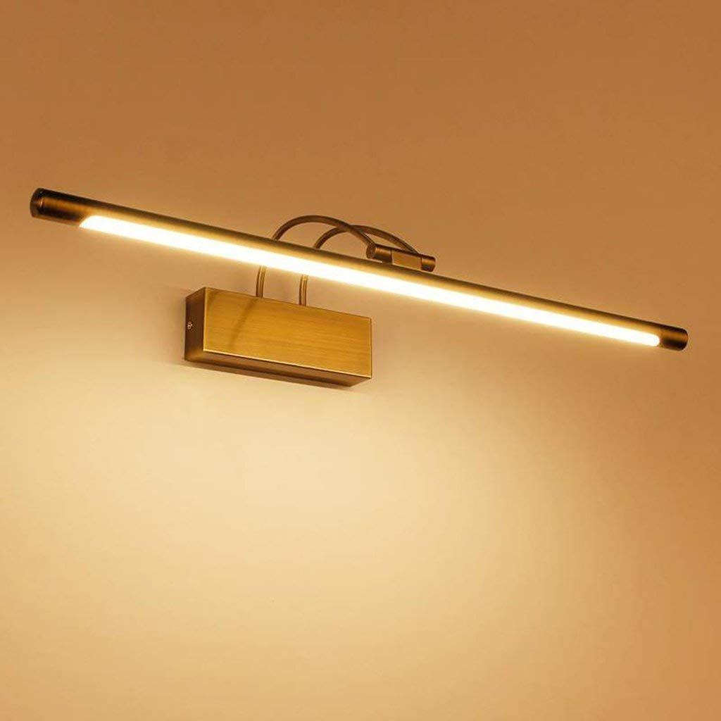 JBP Max Spiegelleuchte Badezimmer Licht LED Spiegel Frontleuchte Spiegelschrank Beleuchtung Wasserdicht Anti-Nebel-Lampe Beschichtung Prozess,9W 45CM