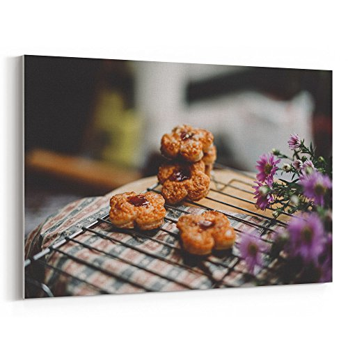 Westlake Art - Cookie Sweet - 5x7 Canvas Print Wall Art - Canvas Stretched Gallery Wrap Modern Picture Photography Artwork - Ready to Hang 5x7 Inch ()