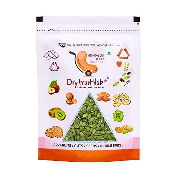 DRY FRUIT HUB Pumpkin Seeds Raw, 400gms