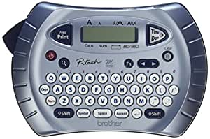 Brother P-touch Label Maker, Personal Handheld Labeler, PT70BM, Prints 1 Font in 6 Sizes & 9 Type Styles, Two-Line Printing