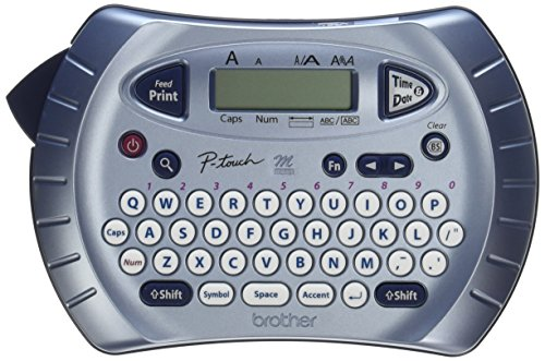 Brother P-touch Label Maker, Personal Handheld Labeler, PT70BM, Prints 1 Font in 6 Sizes & 9 Type Styles, Two-Line Printing, -