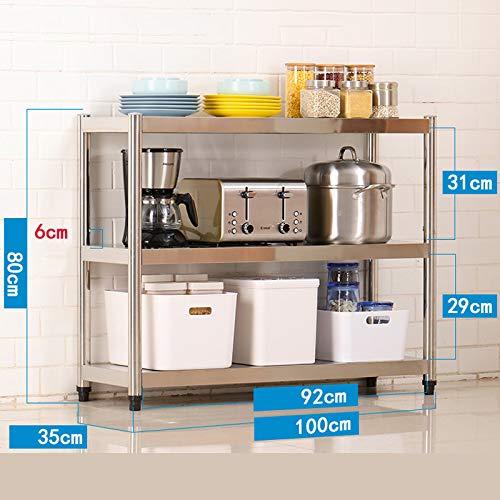 Kitchen shelf Estante de Cocina de Acero Inoxidable/Estante ...
