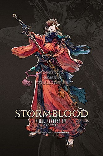 "CGC Huge Poster GLOSSY FINISH - Final Fantasy XIV Online Stormblood PS4 XBOX ONE - EXT749 (24"" x 36"" (61cm x 91.5cm))"