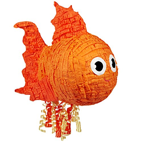BirthdayExpress Goldfish Pull-String Pinata]()