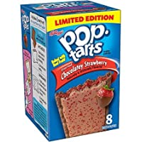 Kellogg's Limited Edition Chocolate & Strawberry 8 Count Pop Tarts