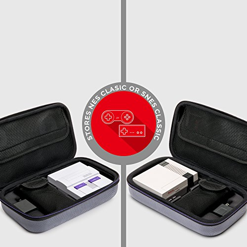 NINTENDO NES Classic and SNES Classic Deluxe Travel Case