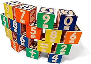product image for Uncle Goose Braille Math Blocks - Made in USA